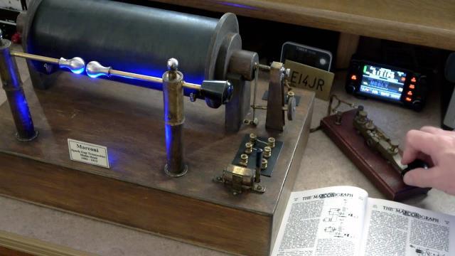 Marconi Transmitter 1902 Malin Head. Just a little bit of fun