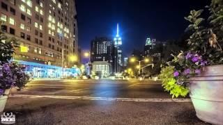 GoPro HERO4 Amazing NYC Night Time Lapse 4K UHD