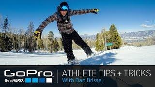 GoPro Athlete Tips and Tricks: Self Document Your Snowboarding with Dan Brisse (Ep 16)
