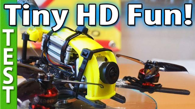 EAChine Viswhoop / Caddx Vista - Review and many flights