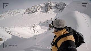 GoPro: Travis Rice Scales Knife Edge Ridge in Alaska