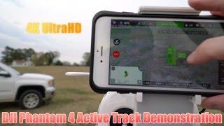 DJI Phantom 4 Active Track Demonstration