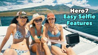 GoPro Hero7 Easy Selfie Features  - GoPro Tip #646 | MicBergsma