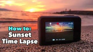GoPro How To:  Sunset Time Lapse  - GoPro Tip #645 | MicBergsma