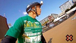 GoPro HD: X Games 17 - Skate Big Air with Adam Taylor