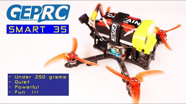 Under 250 gram GEPRC SMART 35 Digital is a very impressive FPV Drone