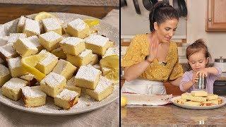 Lemon Ricotta Cake  with Mommy & Mia