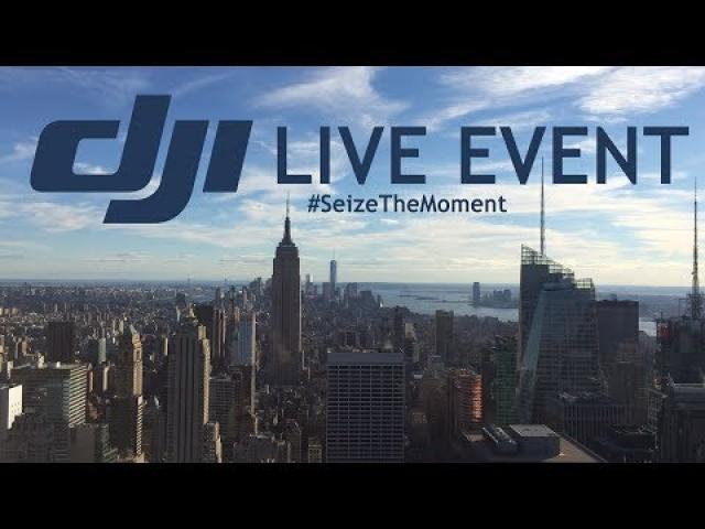 DJI Launch Event LIVE | Seize The Moment | Hosted and commented by Tom's Tech Time