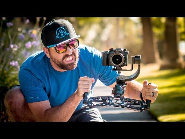 DSLR Gimbal with 5 AXIS! Is it BETTER than 3?  - FilmPower Nebula 4500