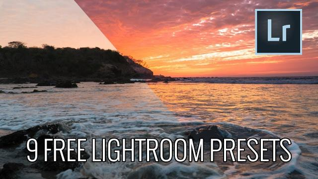 INSTANTLY EDIT your PHOTOS with our PRESET PACK