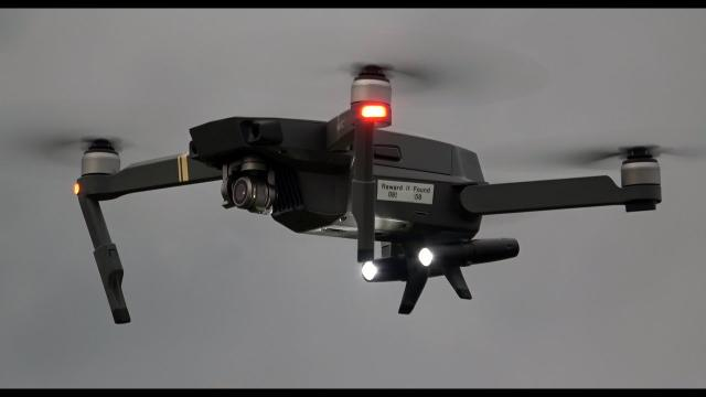 DJI Mavic Pro  Landing Gear Extentions With LED Lamps