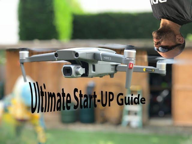 Ultimate DJI MAVIC 2 PRO Drone Beginners Start up guide WATCH BEFORE YOU FLY!!