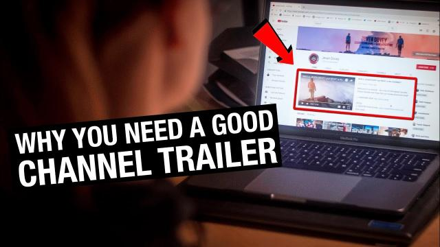 How to Create a YouTube CHANNEL TRAILER that grows your Following