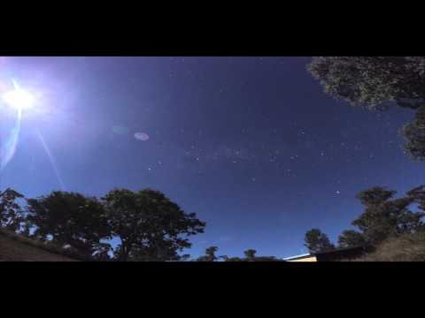 GoPro Star Time Lapse: Chinchilla Nightlapse Australia