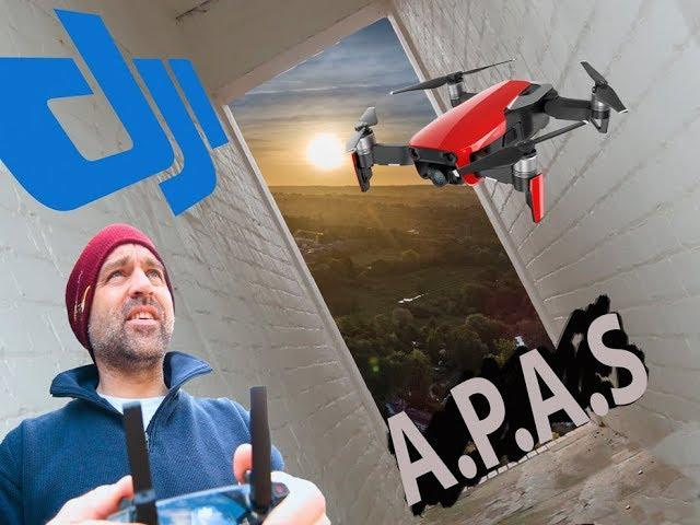 Can the DJI Mavic Air get up the back passage with APAS?