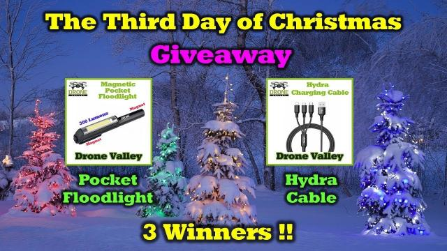 Free Drone Valley Gear - 12 Days of Drone Valley Christmas Giveaways 2019
