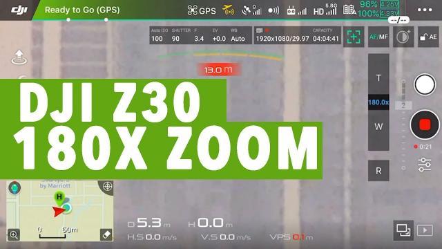 DJI Z30 Camera DRONE WITH 180X ZOOOM!