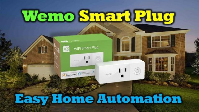 Wemo Mini Smart Plug - Simple Home Automation