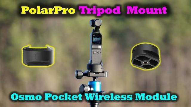 Best Osmo Pocket Accessory Yet - Polar Pro Wifi Tripod Adapter
