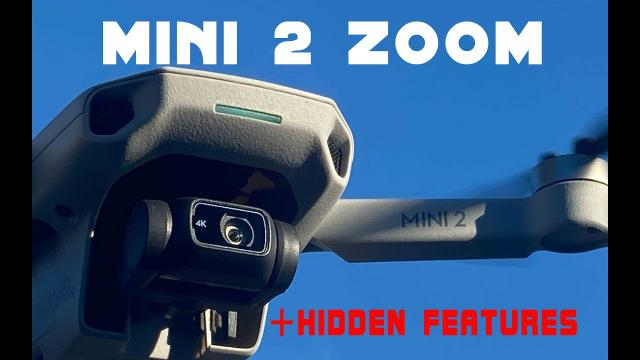 DJI Mini 2 Zoom - How It Works + Hidden Features and Dolly Zoom Effect