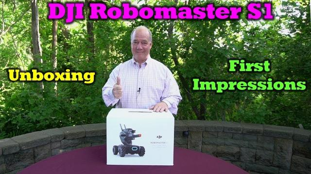 Robomaster S1 - Unboxing and First Impressions