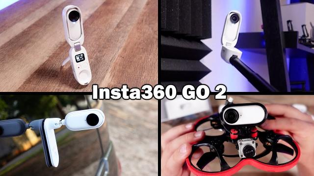 The tiny camera with huge functionality - Insta360 GO 2