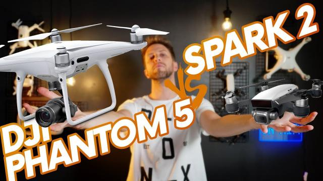 DJI PHANTOM 5 AND SPARK 2 ALL ABOUT BOTH DRONES