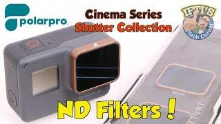 PolarPro Cinema Series ND 8/16/32 Filters for GoPro Hero 5 Black