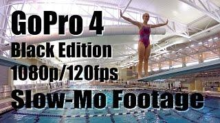 GoPro HERO 4 Black Edition 1080p/120fps Slow Motion Diving Footage (GoPro HERO4)