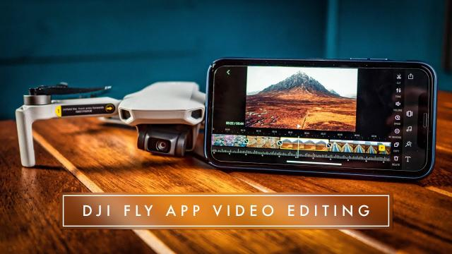 MAVIC MINI VIDEO EDITING WITH DJI FLY APP (it's actually quite good!!)