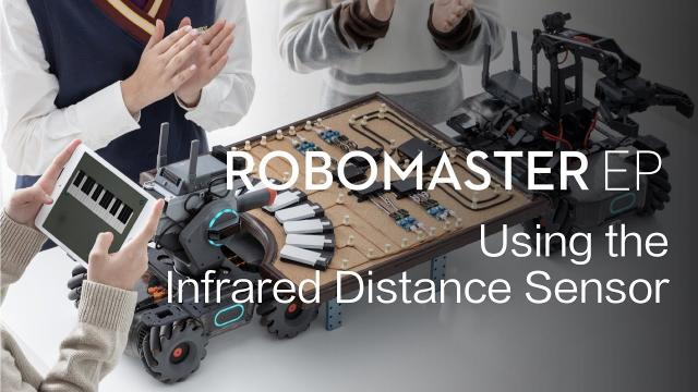 RoboMaster EP | How to Use the Infrared Distance Sensor