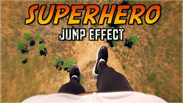 SUPER HERO JUMP EFFECT WITH ANY DRONE! ????