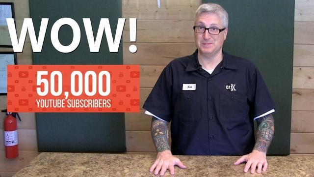 50,000 Subscriber Celebration - KEN HERON