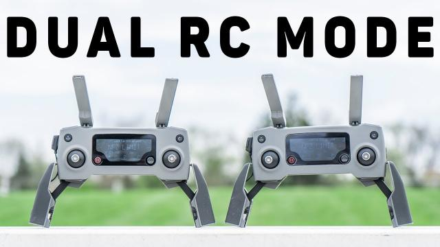 DJI Mavic 2 Dual Remote Mode Overview - v01.00.0400