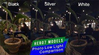 GoPro Hero7 Black Silver White Photo Quality in Low Light Comparison - GoPro Tip #625