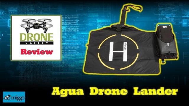 The Ultimate Spark or Mavic Travel Case - Aqua Drone Lander by Miggo