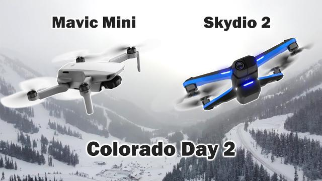 Flying Drones at 14°F in the Colorado Mountains - Day 2