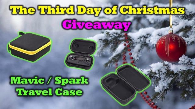 The Third Day of Drone Christmas Giveaway! - Custom Travel Case for your Mavic or Spark