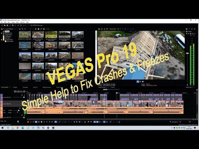 VEGAS Pro 19 Simple Help to Fix Crashes & Freezes