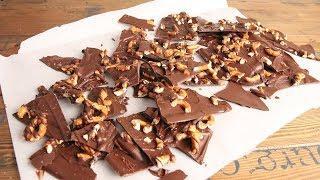 3 Ingredient Sea Salted Chocolate Pretzel Bark | Episode 1211
