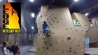 GoPro: Indoor Rock Climbing At The Ledge: Pacific Health Club Liverpool