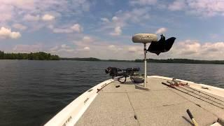 GoPro Hero2 On Skeeter Bass Boat.  LOTS OF SPEED!
