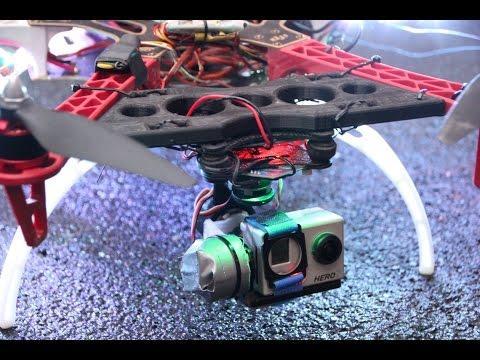 3D-PRINTING [8] - Prusa I3 Hephestos (BQ) - Gimbal-Mount F550 GoPro
