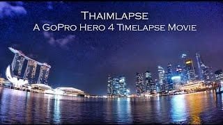 Gopro Hero 4 | Night lapse Time lapse with Settings #4 - Thaimlapse 4K