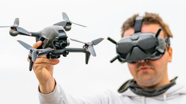 DJI FPV Drone - A Hybrid Drone Built for Better Manual Flight