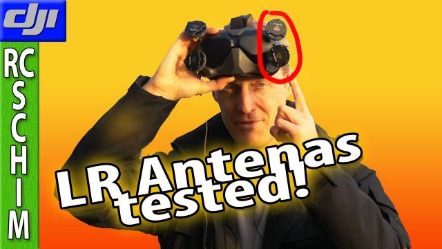 Where to put the good antennas?  (DJIFPV Stationary 2.3km Test)