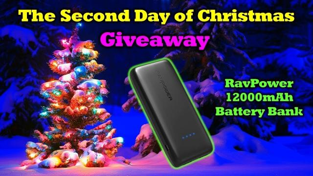 The Second Day of Drone Christmas Giveaway! - RavPower 12000mAh Power Bank