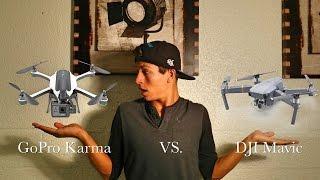 GoPro Karma VS. DJI Mavic | DRONE WARS!