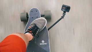 The COOLEST GoPro Mount on Boosted Board! GoPro Tip #668 | MicBergsma