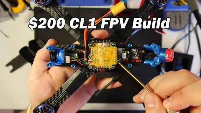 Starter FPV Quad for $200 - RR CL1 Budget Build and GIVEAWAY!